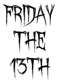 friday funny january 13 2017 triskaidekaphobia leonard s lines rh leonardslines com friday the 13th clip art images friday the 13th clip art free